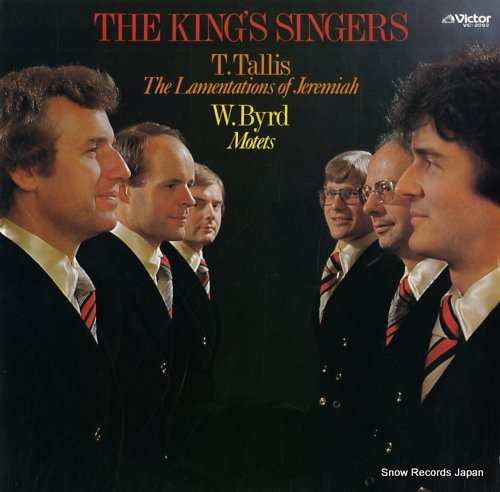 KING'S SINGERS, THE tallis; the lamentations of jeremiah VIC-2092 - front cover