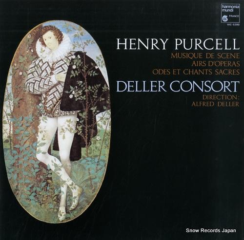 DELLER CONSORT purcell; musique de scene VIC-5280 - front cover