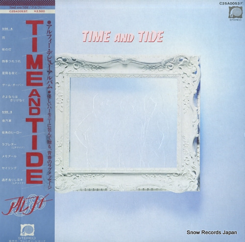 ALFEE, THE time and tide C25A0053 - front cover