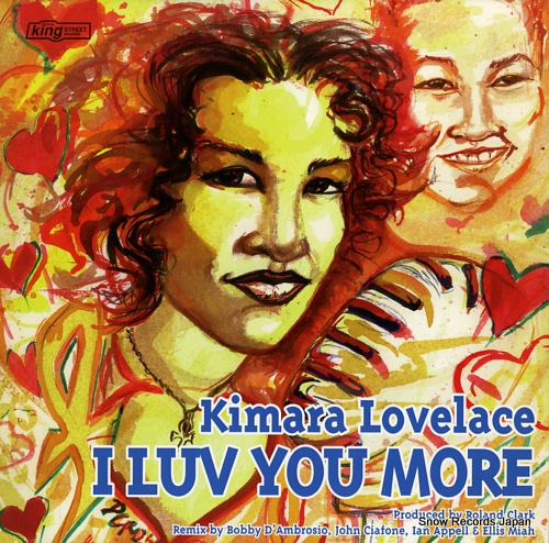LOVELACE, KIMARA i luv you more KSS1097 - front cover