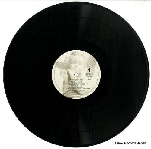 FREMAUX, LOUIS faure; requiem EAC-30323 - disc