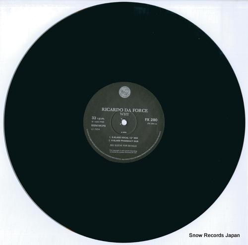 FORCE, RICARDO DA why? FX280 - disc