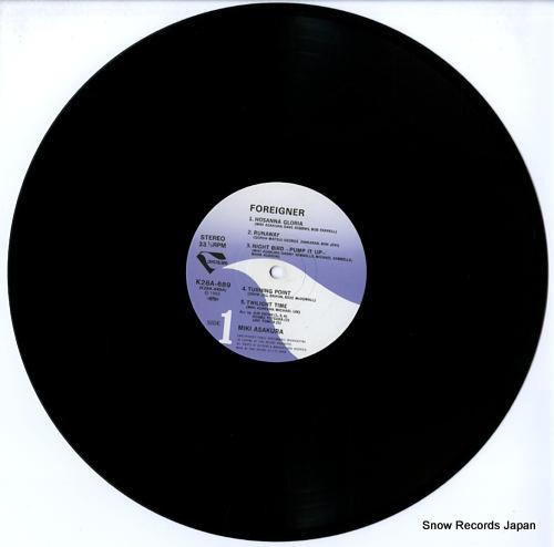 ASAKURA, MIKI foreigner K28A689 - disc