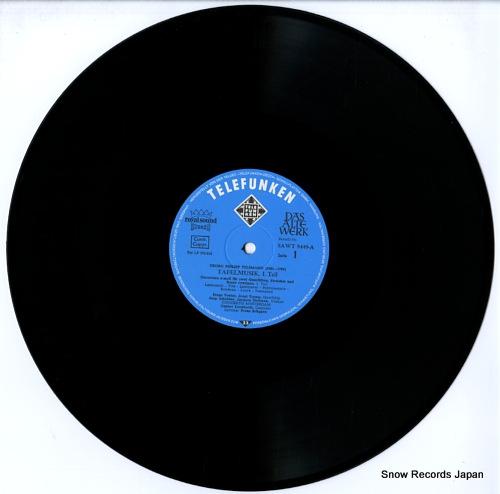 BRUGGEN, FRANS telemann; tafelmusik, 1. teil SAWT9449/50-A - disc
