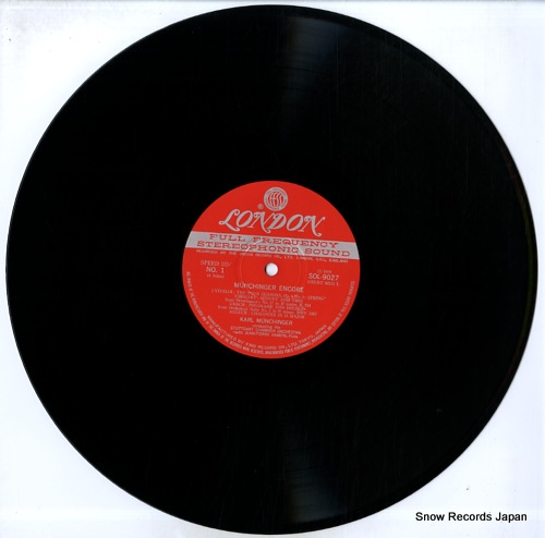MUNCHINGER, KARL munchinger encore SOL9027-8 - disc