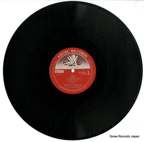 CLUYTENS, ANDRE ravel; bolero / rapsodie espagnole EAC-40075 - disc