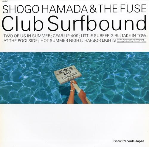 HAMADA, SHOGO club surfbound 20AH2194 - front cover