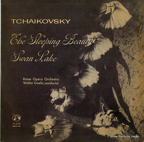 GOEHR, WALTER tchaikovsky; swan lake, the sleeping beauty M-2156 - front cover