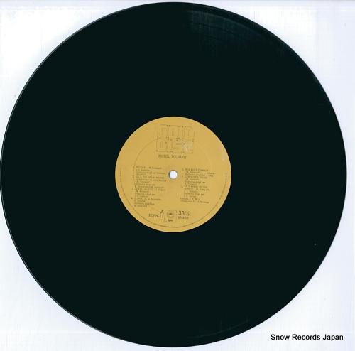 POLNAREFF, MICHEL gold disc ECPN-12 - disc