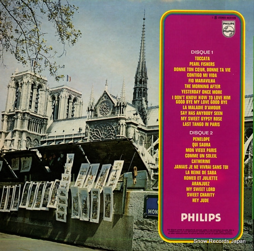 MAURIAT, PAUL super hits paul mauriat toccata & penelope IMPF-10918-9 / 6620020 - back cover