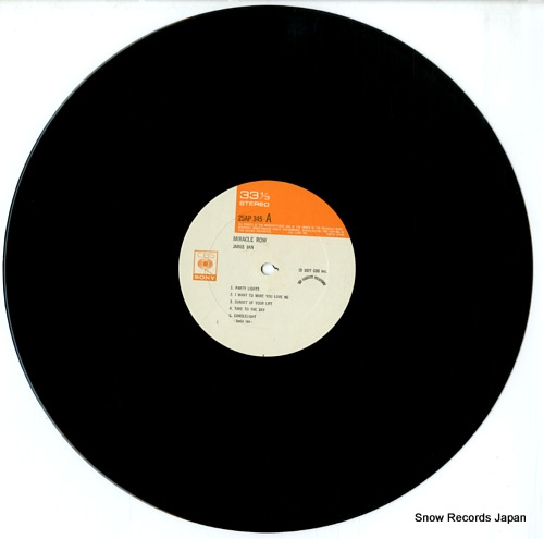 IAN, JANIS miracle row 25AP345 - disc
