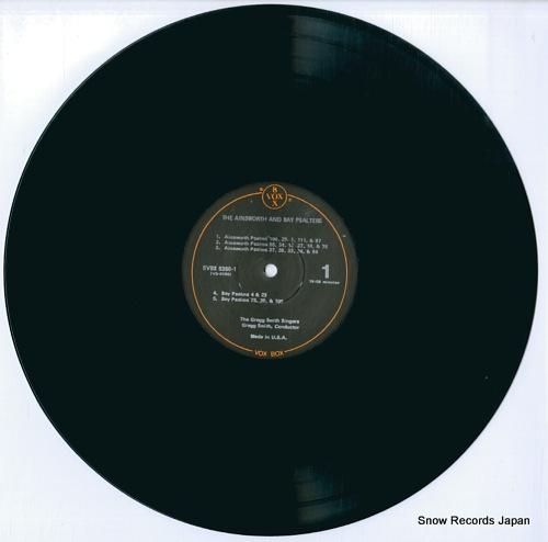 SMITH, GREGG, SINGERS, THE america sings volume 1: the founding years (1620-1800) SVBX5350 - disc