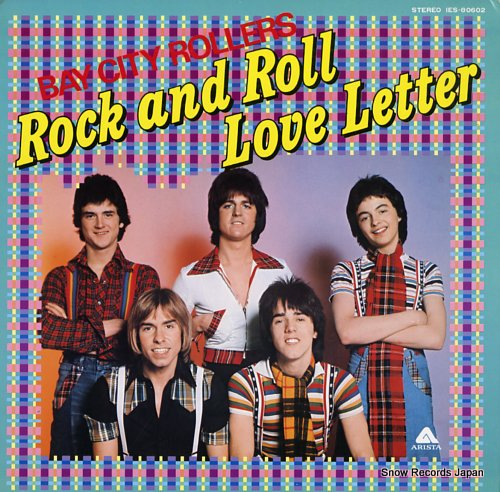 BAY CITY ROLLERS rock and roll love letter IES-80602 - front cover