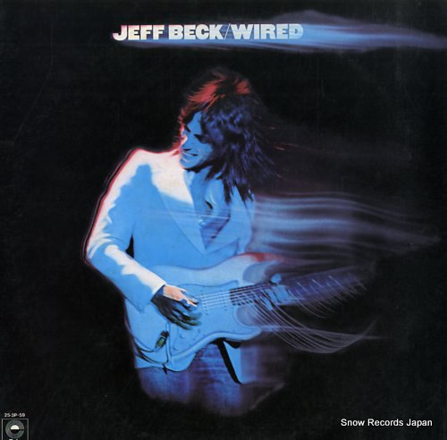 BECK, JEFF wired 25.3P-59 - front cover