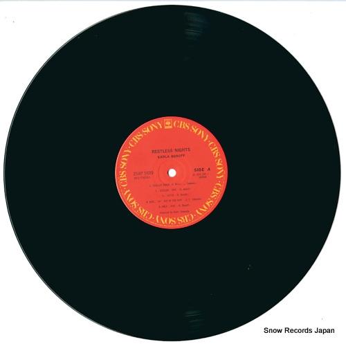 BONOFF, KARLA restless nights 25AP1699 - disc