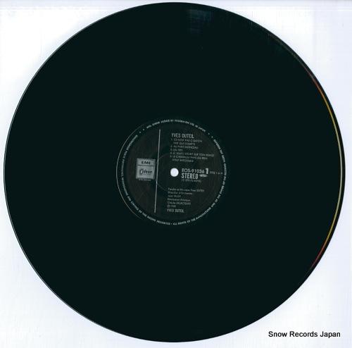 DUTEIL, YVES yves duteil EOS-91036 - disc