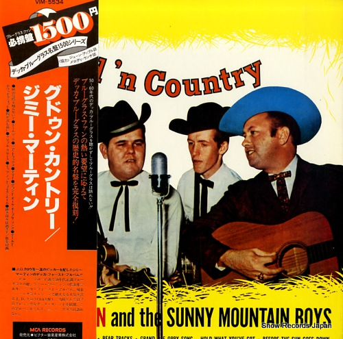 MARTIN, JIMMY good'n country VIM-5534 - front cover
