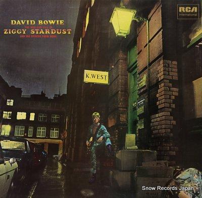 デビッド・ボウイ the rise and fall of ziggy stardust and the spiders from mars INTS5063