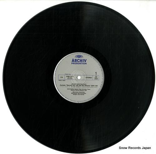 RICHTER, KARL bach; kantate wachet auf fuft uns die stimme 20MA0072 - disc
