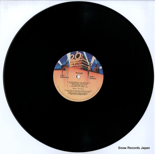 PHOTOGLO, JIM photoglo T-604 - disc