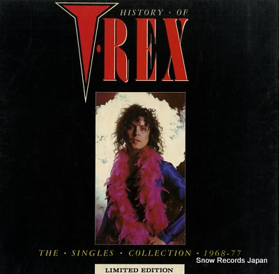 T.レックス history of t.rex WARRIOR1-4