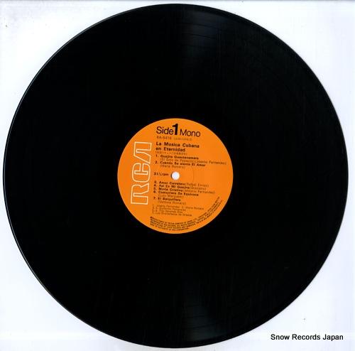 V/A la musica cubana en eternidad RA-5416 - disc