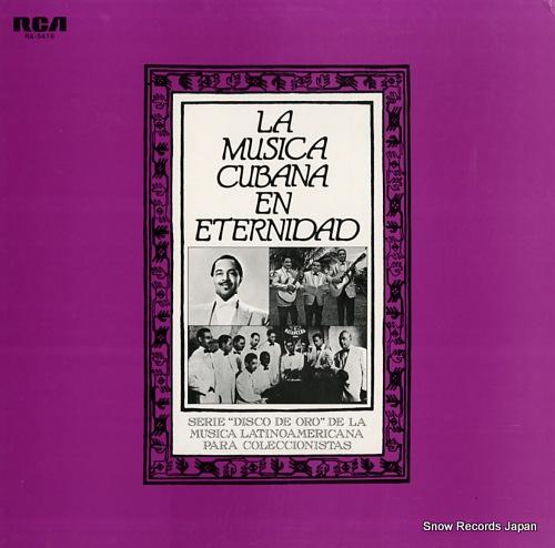 V/A la musica cubana en eternidad RA-5416 - front cover