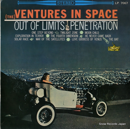 VENTURES, THE the ventures in space LP-7067 - front cover