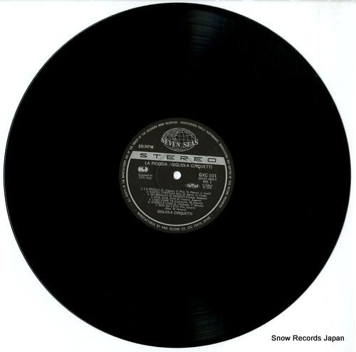 CINQUETTI, GIGLIOLA canzone best library GXC101 - disc