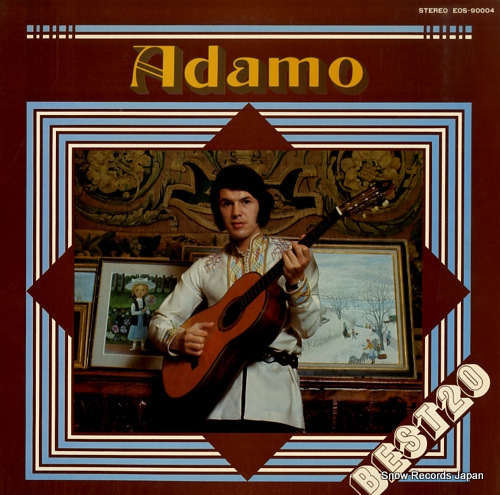 ADAMO best 20 EOS-90004 - front cover
