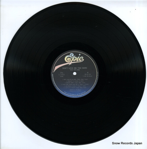 NOLANS, THE don't love me too hard 28.3P-331 - disc