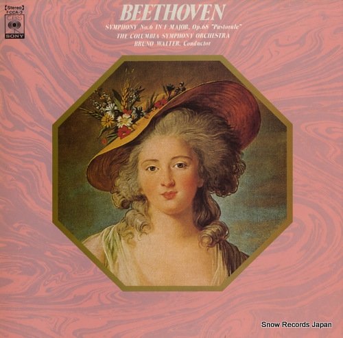 WALTER, BRUNO beethoven; symphony no.68
