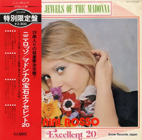 ROSSO, NINI the jewels of the madonna/excellent 20 SWX-30008 - front cover