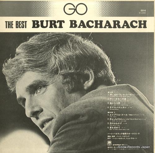 BACHARACH, BURT the best burt bacharach GO-6 - back cover