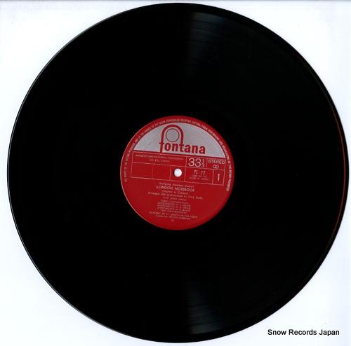 MARRINER, NEVILLE mozart; london notebook PL-22 - disc