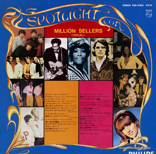 V/A spotlight on million sellers-vocal FDX-9209-9210 - back cover