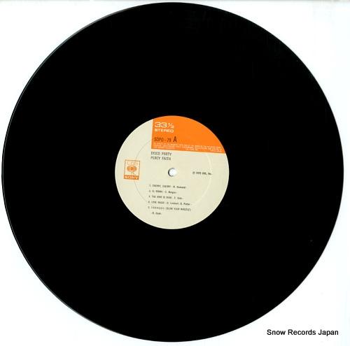 FAITH, PERCY disco party SOPO79 - disc