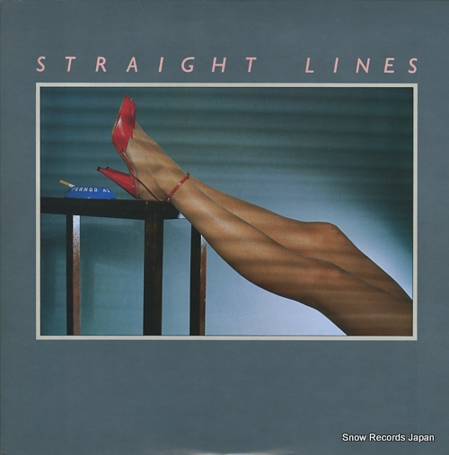 STRAIGHT LINES with a definite touch of romance 25.3P-224 - front cover