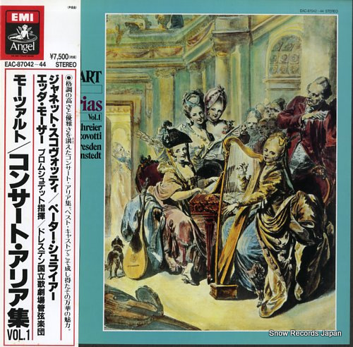 SCOVOTTI, JEANETTE mozart; concert arias vol.1 EAC-87042-44 - front cover