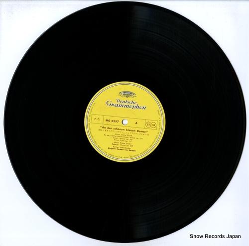 KARAJAN, HERBERT VON an der schonen blauen donau MG2257 - disc
