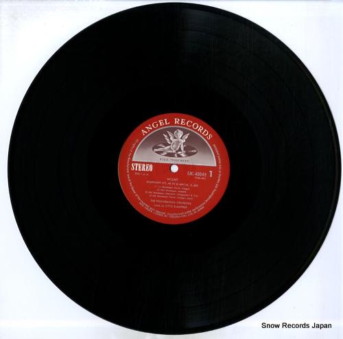 KLEMPERER, OTTO mozart; symphony no.40 EAC-40049 - disc