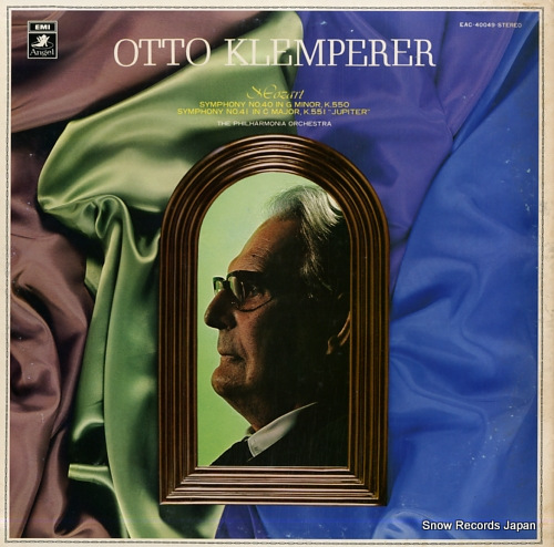 KLEMPERER, OTTO mozart; symphony no.40 EAC-40049 - front cover