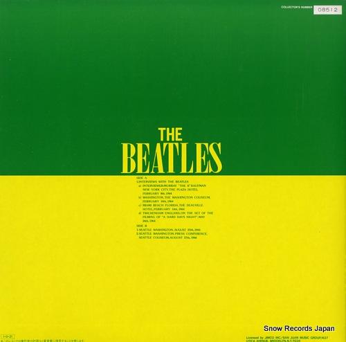 BEATLES, THE timeless ii UPS-352-V - back cover