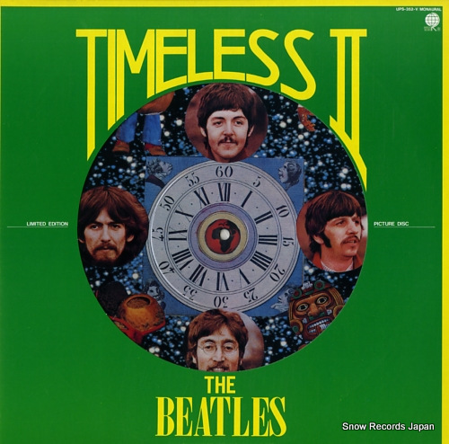 BEATLES, THE timeless ii UPS-352-V - front cover