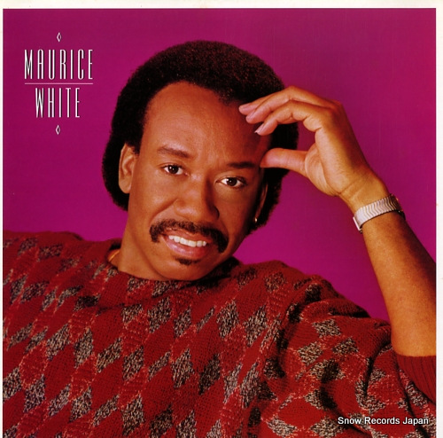 WHITE, MAURICE maurice white 28AP3087 - front cover