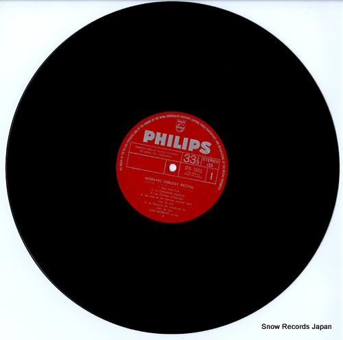 MORAVEC, IVAN debussy recital SFX-7655 - disc