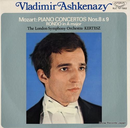 ヴラディーミル・アシュケナージ モーツァルト:ピアノ協奏曲第8番&第9番 SLC1862