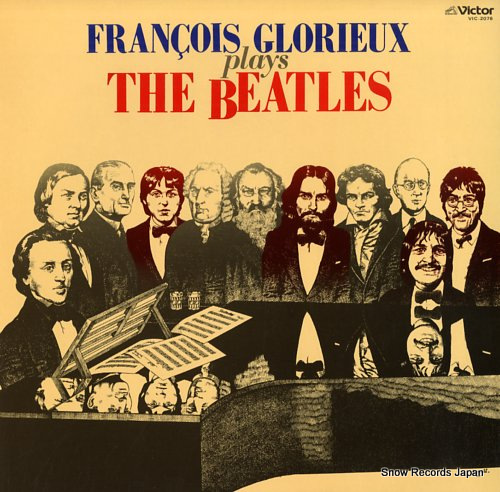 GLORIEUX, FRANCOIS francois glorieux plays the beatles VIC-2076 - front cover