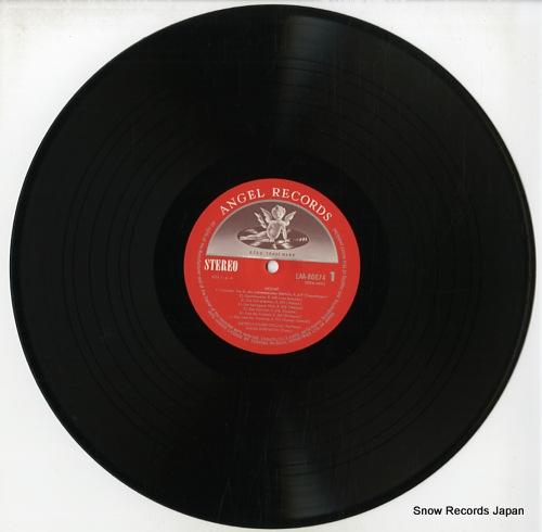 FISCHER=DIESKAU, DIETRICH, AND DANIEL BARENBOIM mozart; lieder EAA-80074 - disc