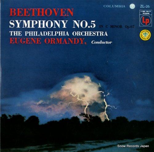 ユージン・オーマンディ ベートーヴェン:交響曲第5番ハ短調「運命」 ZL-26